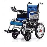 sZeao Silla DE Ruedas ELÉCTRICA Power Chair - para Personas Mayores y discapacitadas