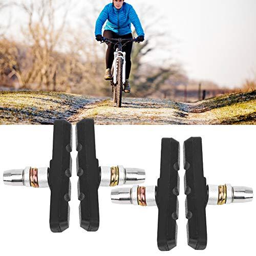 KAKAKE Pastilla de Freno de Bicicleta, disipación de Calor y Resistencia al Desgaste Diseño Antideslizante Pastilla de Freno de Bicicleta de montaña V para Bicicleta de Carretera