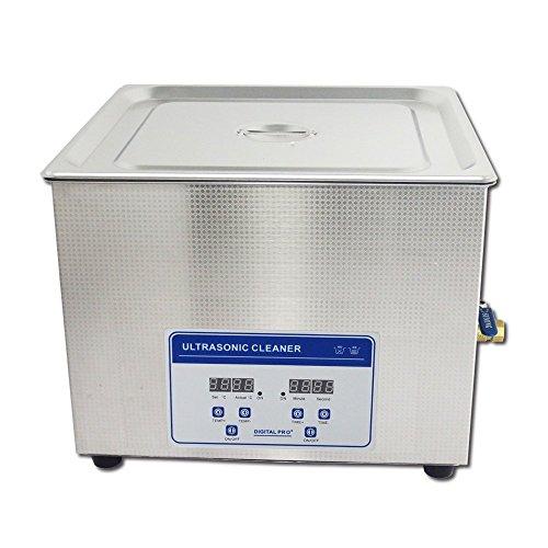15L Professionell Digital Ultraschall Reiniger Maschine mit Timer Beheizt Edelstahl Reinigung Behälter 110V/220V