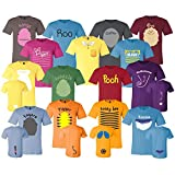 Pooh And Friends Adult Shirt Halloween Costumes Cosplay For Family Group Trip Customized Handmade T-Shirt