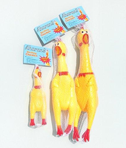 Aharan9 (アハランナイン) びっくりチキン ペットもよろこぶ 叫ぶ チキン おもちゃ (SSS)
