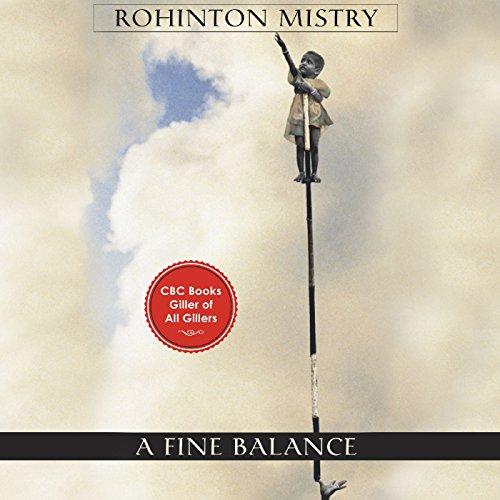 A Fine Balance audiobook cover art