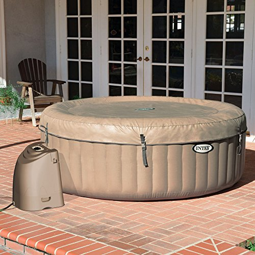Intex Whirlpool Pure SPA 77″ Bubble Massage, Braun, Ø 196 x 71cm - 6