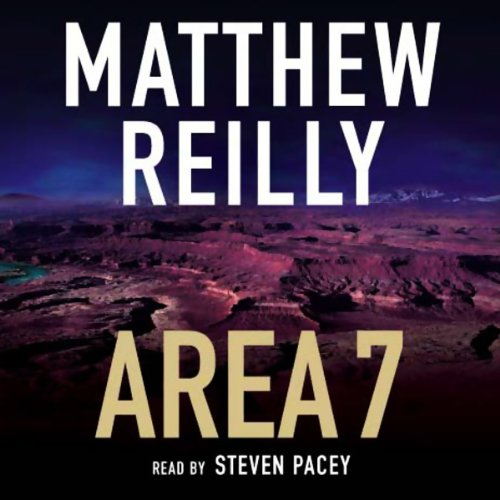Area 7 audiobook cover art