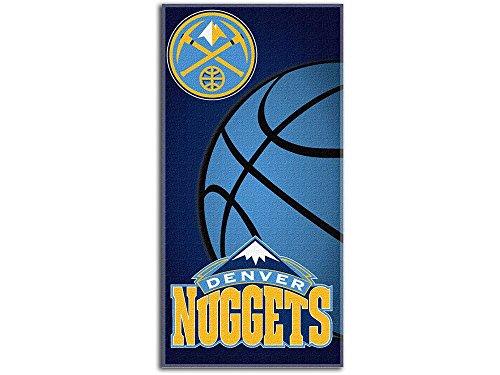 NBA Denver Nuggets Emblem Beach Towel, 28 x 58-inches