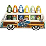Thoughtfully Gifts, Woody Bus Cocktail Mixers, Includes Tropical Flavors: Margarita, Pina Colada,...