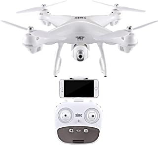 Sacow RC Quadcopter, S70W 2.4GHz GPS FPV Drone Helicopter with 1080P HD Camera Wifi Headless Mode (White)
