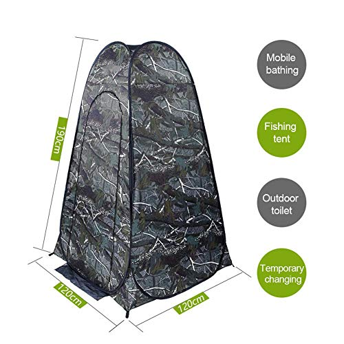 Pop-up Privacy Tent – Instant Portable Outdoor Shower Tent, Camp Toilet, Changing Room, Rain Shelter with Window – for Camping and Beach