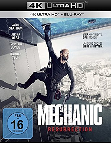 Mechanic: Resurrection (4K Ultra HD) (+ Blu-ray)
