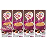 Flavored Coffee Creamer: Nestle Coffee mate Salted Caramel Chocolate flavor coffee creamers add a swirl of rich and creamy chocolate flavor with a touch of salted caramel to your cup of coffee Perfect for Here or On the Go: Stir our liquid creamer in...