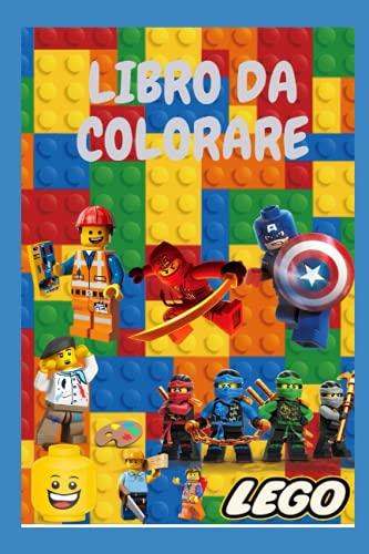 LIBRO DA COLORARE Lego: Libro da colorare