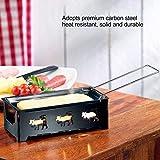 Macchina per raclette Padella per raclette, set per raclette alla griglia per formaggio, per cottura al forno per fondere
