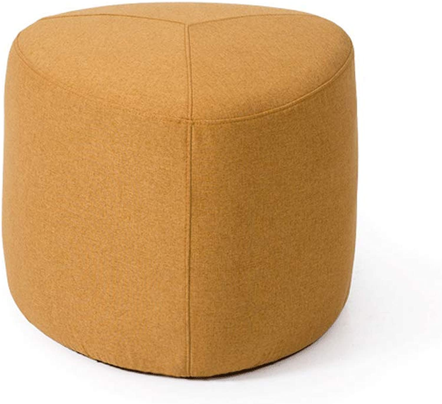 Low Stool Creative Lazy Sofa Bench Coffee Table Stool Fabric Modern Footstool Household Stool A. (color   C)