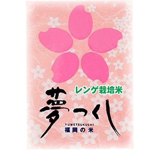 令和 元年産 特別栽培米 福岡産 レンゲ栽培米 夢つくし 5kg 嘉穂農協指定 (3分づき(精米後約4.85kg))