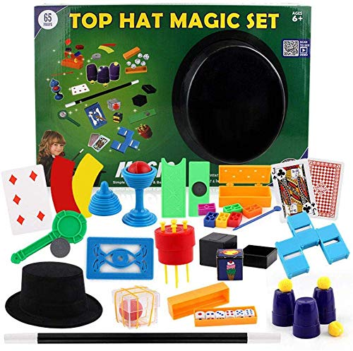 EPRHAY Kit mágico 16 Trucos mágicos, Accesorios de Rendimiento para Jugar, Principiantes, niños, niñas y Adultos (niños a Partir de 6 años)