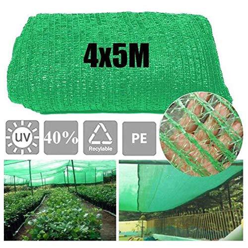 Opfury 4 × 5M-Schattennetz für Gewächshauspflanzen, Garten-Sonnenschutznetz, leichte und atmungsaktive Beschattung und Kühlung schützen Pflanzen oder Gewächshäuser oder Haustiere