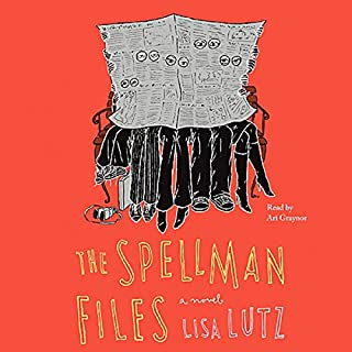The Spellman Files audiobook cover art