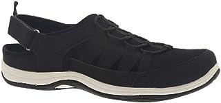 حذاء رياضي رياضي للسيدات من Easy Street، جلد أسود، 5