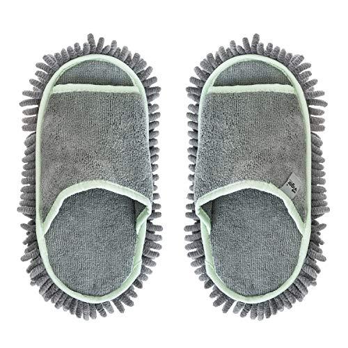 Vigar - Rengo | Zapatillas de Microfibra con Diseño de Color Gris - Compatibles con Tallas 38-42