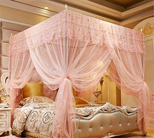 Mosquitera Camas Matrimonio, Grande Mosquitera 3 Puertas para Individual o Matrimonio Anti Mosquitos Universal Mosquitera para Cama para Interior y Exterior,A,2m