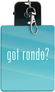 got rondo? - LED Key Chain with Easy Clasp