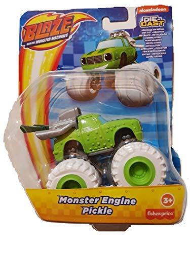 Blaze The Monster Machines - GWX81 - Veicolo in Metallo - Monster Engine Pickle - Pressofuso