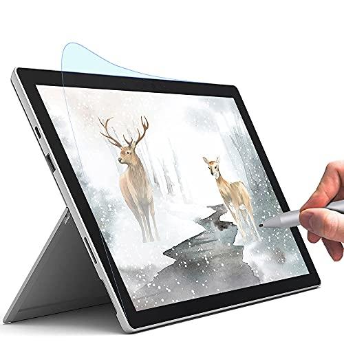 TRITTON Bildschirmschutzfolie für Microsoft Surface Pro 7/6/5/4, Anti-Blue Paperfeel Bildschirmschutzfolie Zeichnen & Skizzieren wie auf Papier, entspiegelt, weniger Reflexion für Surface Pro (12,3 Zoll)