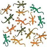 ArtCreativity Rainforest Lizards Figurines Toys Set,...