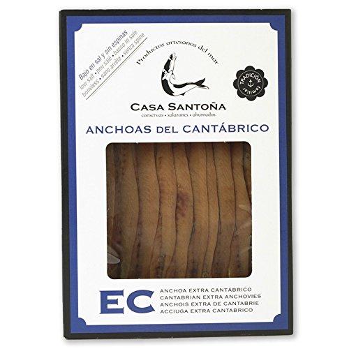 Filetti di Acciughe del mar Cantabrico Casa Santoña