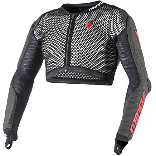 Dainese WC Slalom Jacket Protection de Ski Mixte Adulte, Nero, FR (Taille Fabricant : XL)