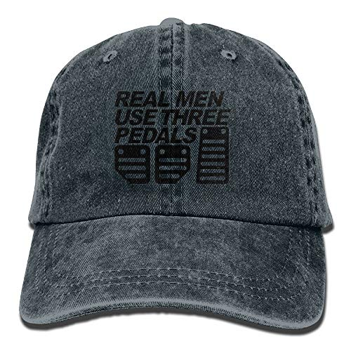 Keep Calm and Ready for Tonight Plain Adjustable Cowboy Cap Denim Hat for Women and Men