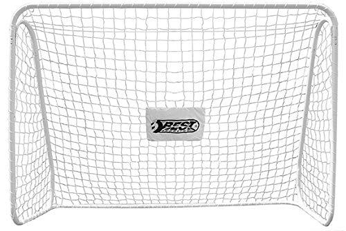 BestSporting Unisex Jugend 11084 Fußballtor Tor, weiß, 300 x 205 x 120 cm