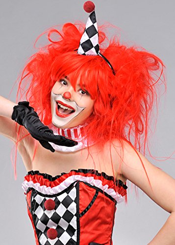 Womens Big Backcombed Clown Red Ranking Ranking TOP11 TOP2 Wig