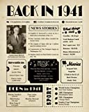 Back in 1941 - 80th Birthday Gifts for Women...