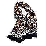 CHENGWJ Schal für Damen, Ethno-Stil, super großer Wollumhang, Frühling und Herbst Winter, a