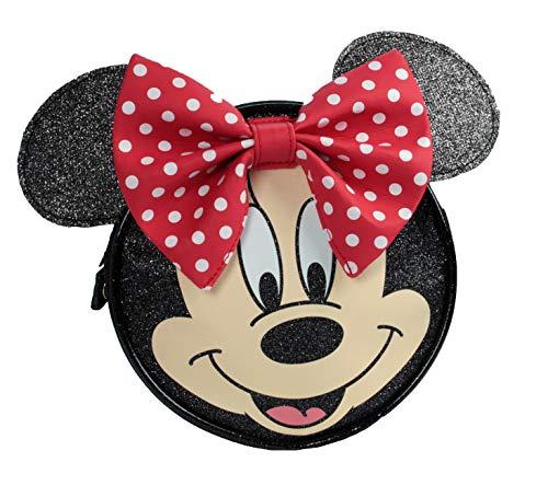 Minnie Mouse Face Umhängetasche mit 3D-Ohren