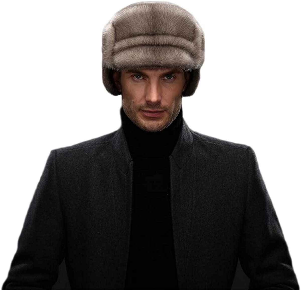 KAISHIN Men Winter Russian Ushanka Hats Limited price famous Older Aged Ma Middle and