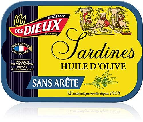 Sardinen in Olivenöl ohne Gräten I Trésor des Dieux