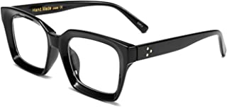 FEISEDY Classic Oprah Square Eyewear Non-prescription Thick Glasses Frame for Women B2461
