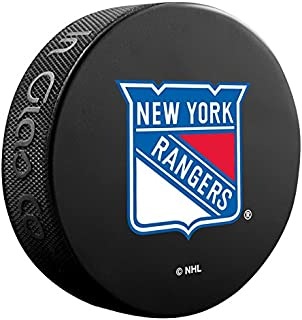 New York Rangers Basic Collectors NHL Hockey Game Puck