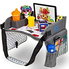 --A Kid's Best Friend - No matter if your toddler is hungry or bored, we've got the lap tray that does it all. From keeping the little ones entertained on a long plane, train, or car ride, to giving them somewhere to enjoy their snacks comfortably, K...
