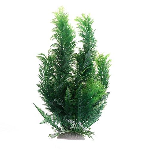 ECMQS Heißer 30 cm Künstliche Aquarienpflanzen Dekoration Aquarium Tauch Gras Dekor Ornament