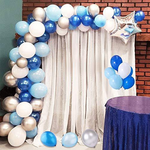 Dsaren 110 PCS kit ghirlanda palloncini arco blu balloon chain per Nozze Compleanno Festa Decorazioni