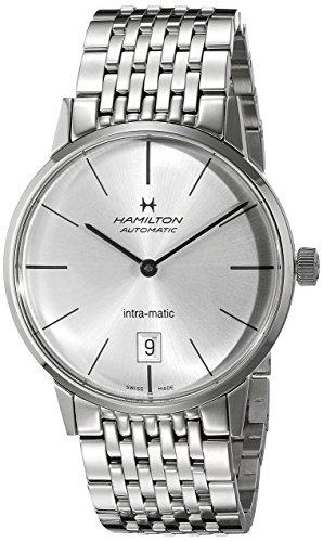 Hamilton H38455151 American Classic Reloj Suizo automático de Plata para Hombre