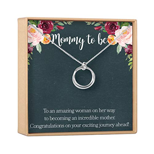 Product Image of the Pregnancy Necklace - Heartfelt Card & Jewelry Gift for Baby Showers, New Mom, 2...