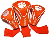 NCAA Clemson Tigers 3 Pack Contour Golf Club Headcover
