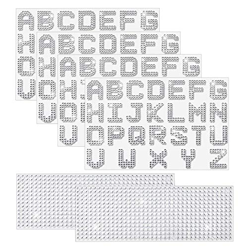 55% off Bling Rhinestone Letter Stickers Clip the Extra 5% off Coupon & use code: 501MBZM4