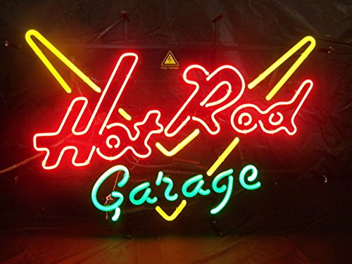 Desung Brand New 20'x16' Vintage Car Hot Rod Garage Neon Sign (Various sizes) Beer Bar Pub Man Cave Business Glass Neon Lamp Light DB319
