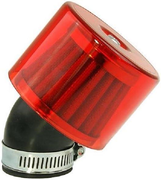 Luftfilter Air System 45 Grad 35mm Rot Auto