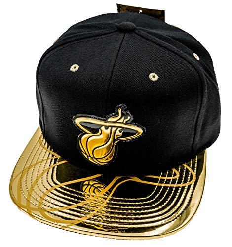 Mitchell & Ness NBA Miami Heat Snapback Cap schwarz